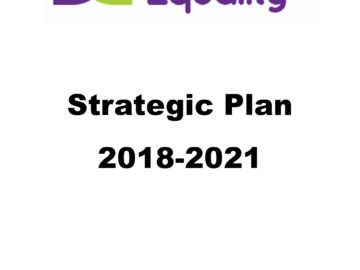 Disability Equality's New Strategic Plan 2018-2021