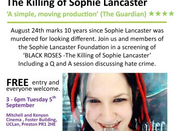 Sophie Lancaster Film Screening